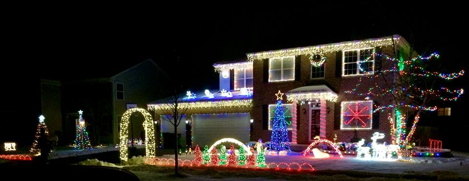 if we missed a home that has spectacular lights displayed shoot us the address we would love to have all the best homes on our list